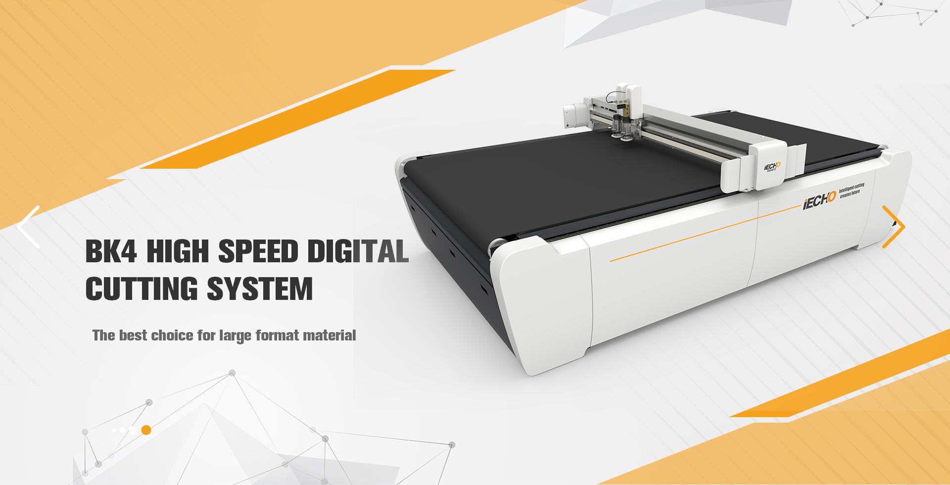 BK4 High Speed Digital Cutting Machine