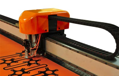SC High-Speed Large-Format Static Cutting System