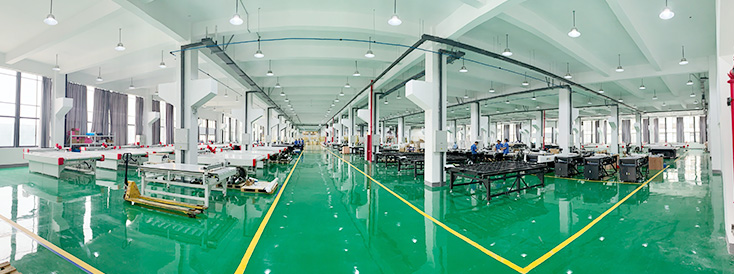 60,000 square meters research center and new manufacturing base are built, and the annual output of equipment can reach 4,000 units