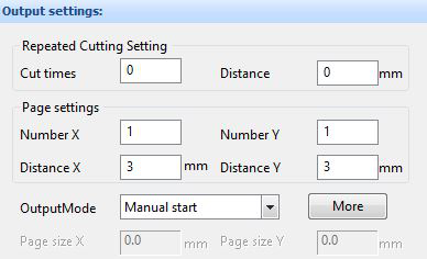 Arrays and Repeat Cutting Setting