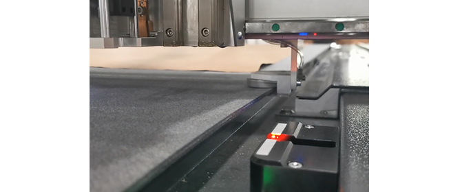 Automatic knife initialization system