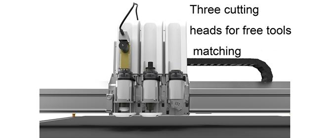 Efficient cutting heads